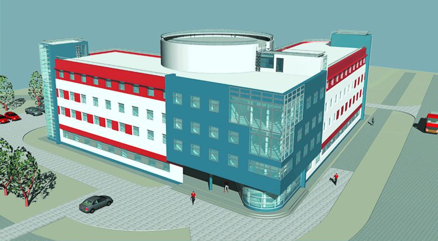 Проектирование медицинского центра