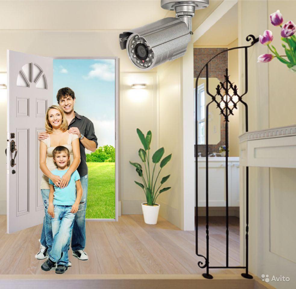 Видеоконтроль для квартир