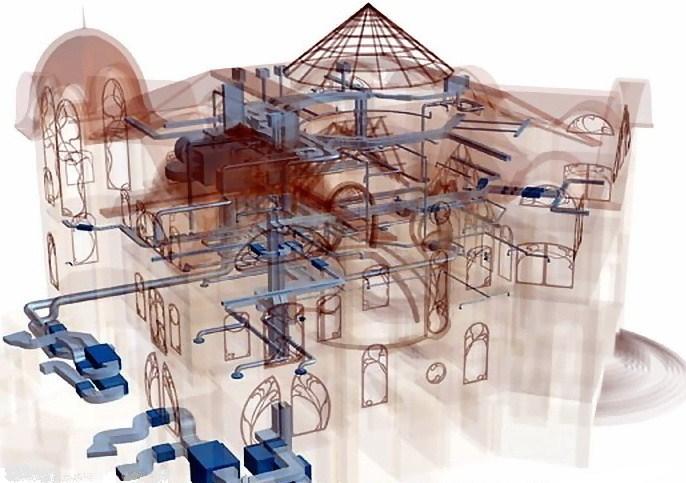 Нежилые здания также нуждаются в создании инженерных систем. Сегодня невозможно представить себе даже склад без отопления или кондиционирования, водоснабжения или вентиляции. Все перечисленные системы обеспечивают сохранность производимого или хранимого товара. Кроме того, от них зависит комфорт сотрудников, работающих в любом производственном помещении. Именно поэтому грамотное проектирование инженерных систем зданий нежилого типа играет решающую роль в полноценности их эксплуатации. Проект перепланировки нежилого помещения Нежилые помещения также могут нуждаться в перепланировке. Это происходит тогда, когда, старое здание не соответствует требованиям эксплуатации. Изменение его функциональной нагрузки должно отражаться на планировке. Проект перепланировки нежилого помещения должен включать в себя: изготовление макета; компьютерную визуализацию; подготовку проектной документации и чертежей; смету на выполнение работ. Перепланировка нежилого помещения должна учитывать все особенности будущего здания. Поэтому заказчик обязан максимально подробно описать исполнителю все нюансы, которые могут быть с этим связаны. Проектирование и монтаж инженерных сетей Как правило, перепланировка помещения требует создания соответствующих коммуникаций. При проведении этой операции, старые инженерные сети демонтируются. Они проектируются заново уже с учётом необходимых изменений. Очень часто проектирование и монтаж инженерных сетей с нуля являются необходимыми операциями для нормальной работы предприятия. Создание нового проекта коммуникаций включает в себя следующие этапы: предпроектный анализ, учитывающий пожелания клиента; подготовка технического задания; непосредственно выполнение работы; оформление сопутствующей документации; подготовка сметы. Дальнейшее проведение работ будет осуществляться уже с учетом готового плана и требований, предъявляемых к конкретному нежилому помещению. Перепланировка нежилого помещения Перепланировка нежилого помещения может производиться с внесением из